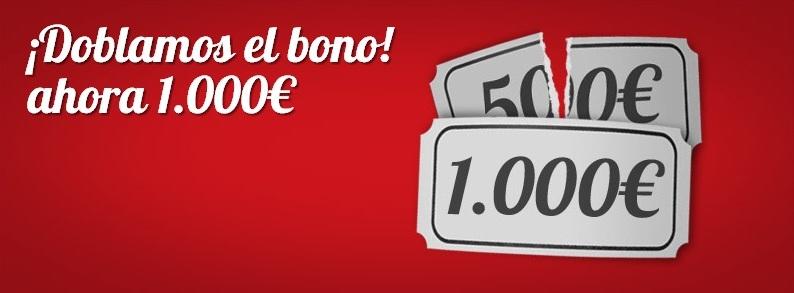 Nuevo bono de poker de cirsa salas freerolls de poker - Amuebla tu casa por 1000 euros ...