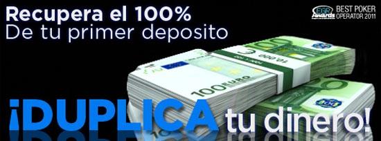 8 Euros gratis en poker